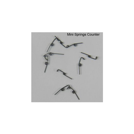AJW Mini Springs Counter Clockwise Supreme 010 Lower Left 10/pk - 222-170