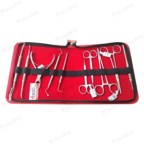 Gdc Surgical Instruments S/10 In Pouch Surgical Instruments Kit (SISP10)