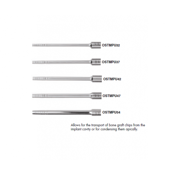 Gdc Osteotomes Flat End With Stopper Set Of 6 In Pouch (Ostmpusp6)