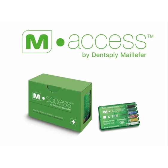 Dentsply M-Access K-Files 21mm (Hand Use)