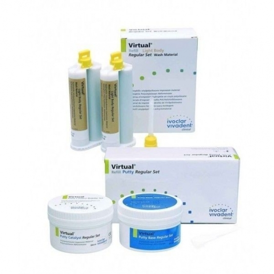 Ivoclar Virtual Putty And Light Body Set