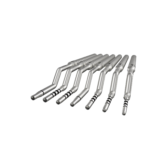 API Osteotomes without Stoppers Kit Convex Set of 12